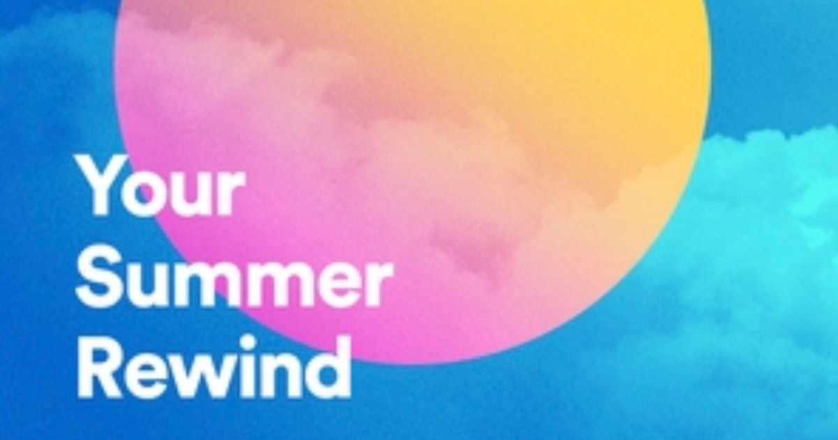 Here's Where To Find Your Spotify Summer Rewind Playlist For Nostalgic Tunes