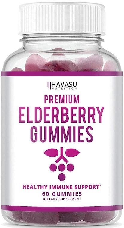 Havasu Nutrition Premium Elderberry Gummies