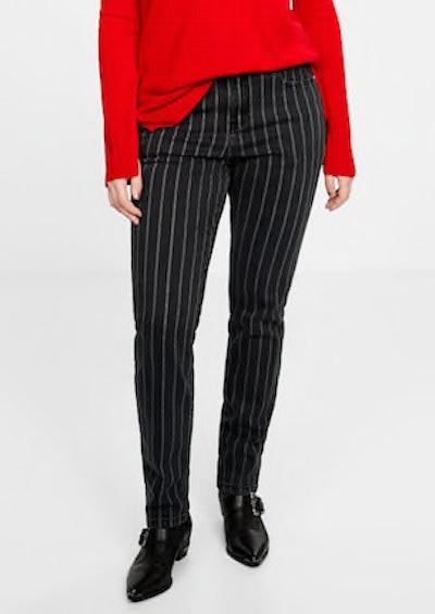 Slim Striped Jeans
