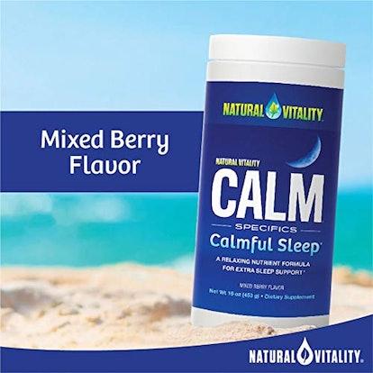 Natural Vitality Calm Sleep Supplement