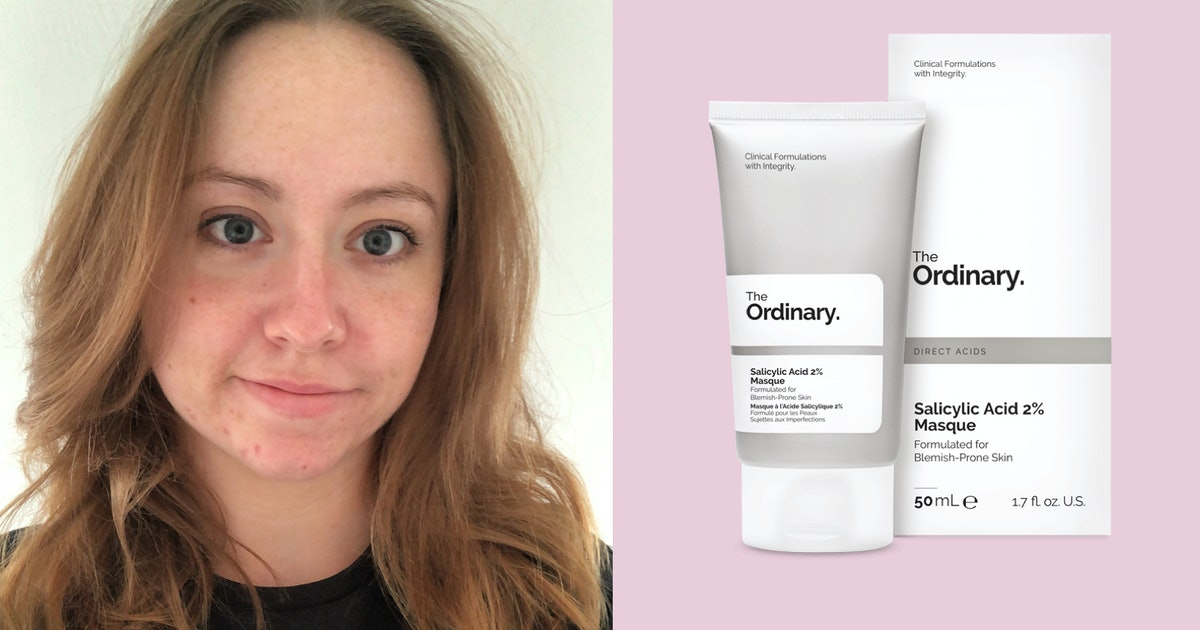 I Tested The Ordinary S Salicylic Acid Masque It S Earned A Permanent Spot In My Skincare Routine