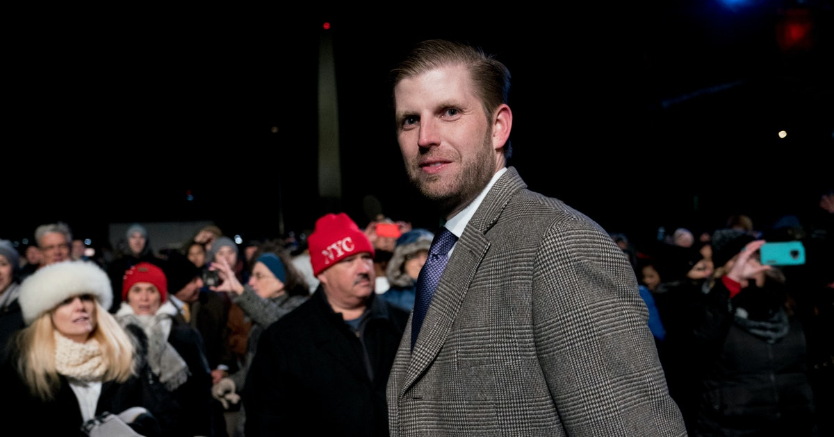 Eric Trump was spit on by a waitress and unsurprisingly, he's blaming it on the Democrats