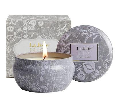 LA JOLIE MUSE Blue Lotus Stress Relief Candle