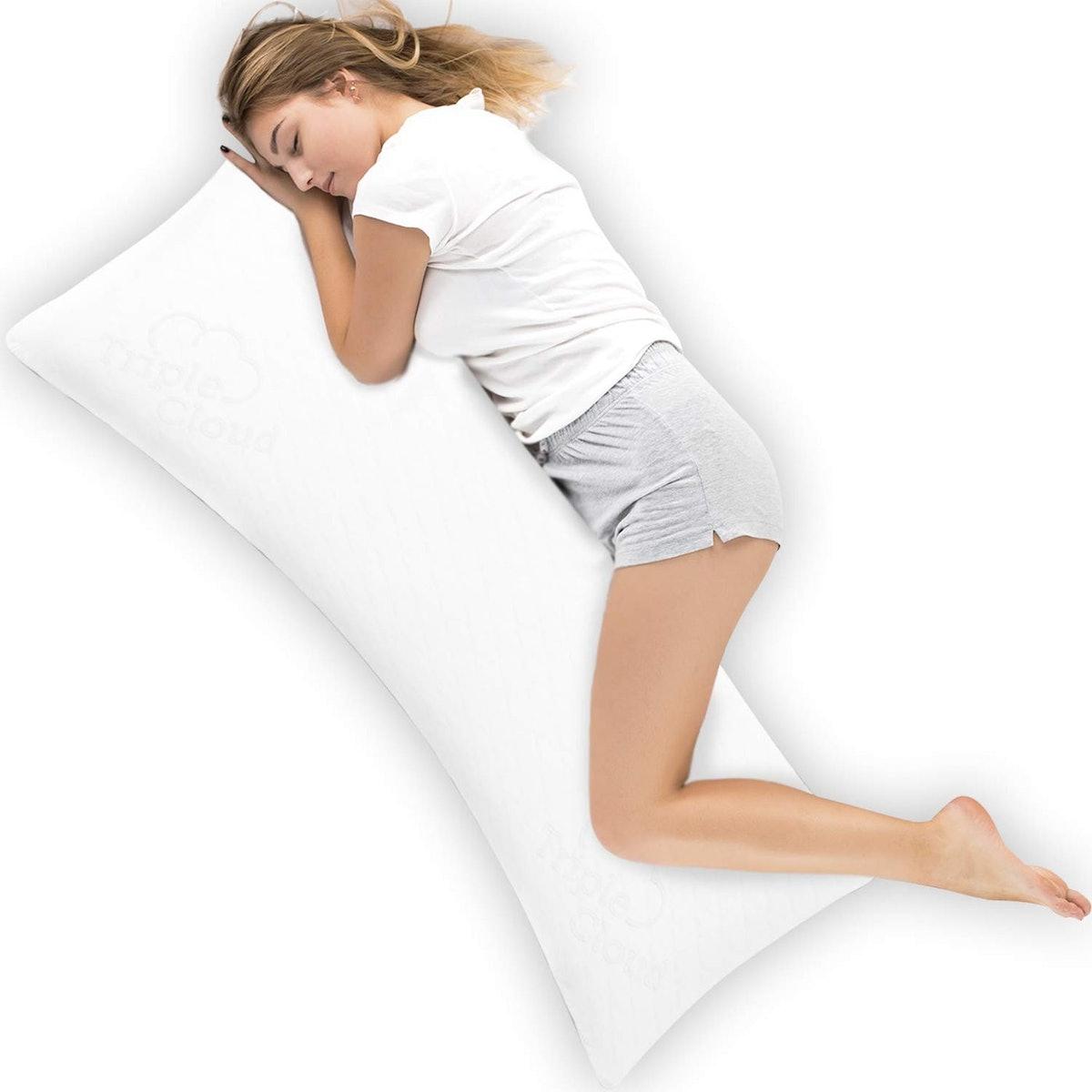Triple Cloud Shredded Memory Foam Body Pillow