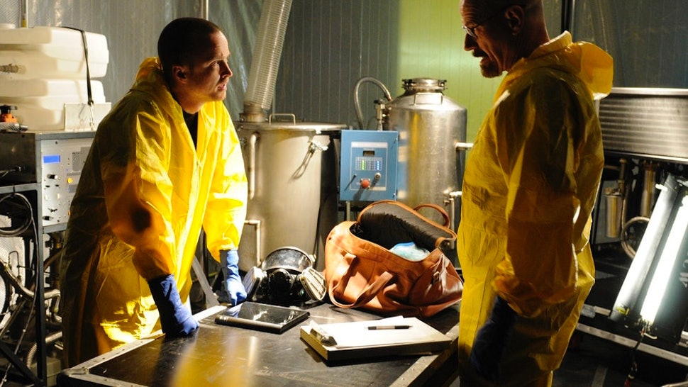 Картинки по запросу Bryan Cranston and Aaron Paul Possibly Teasing a 'Breaking Bad' Reunion