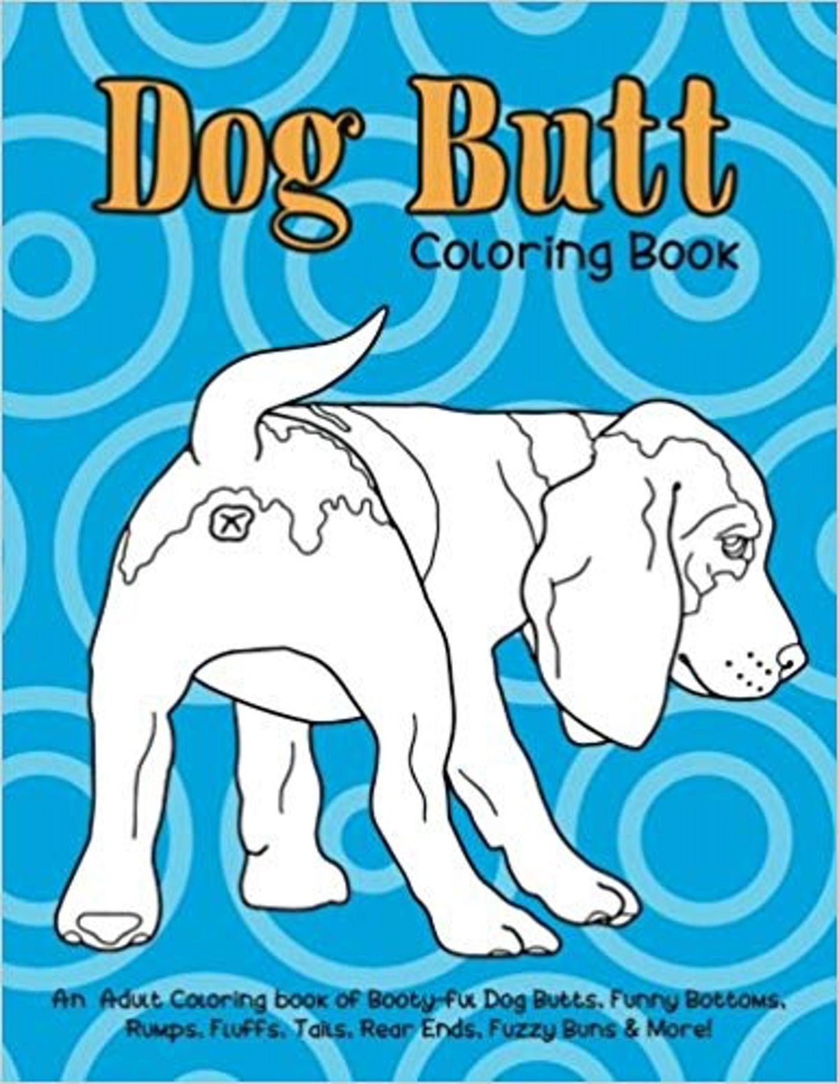 Dog Butt Coloring Book