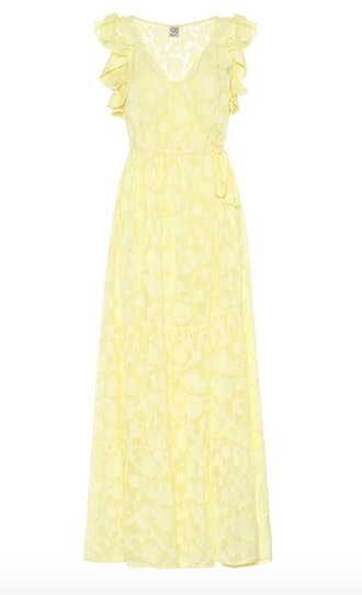 Aiza Silk-Blend Maxi Dress
