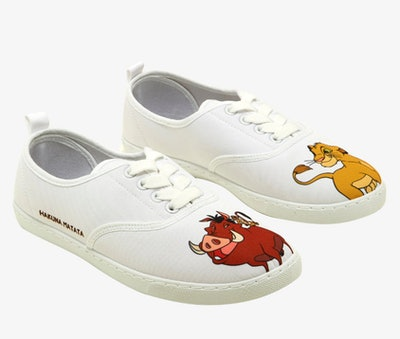 Disney 'The Lion King' Besties Lace-Up Sneakers
