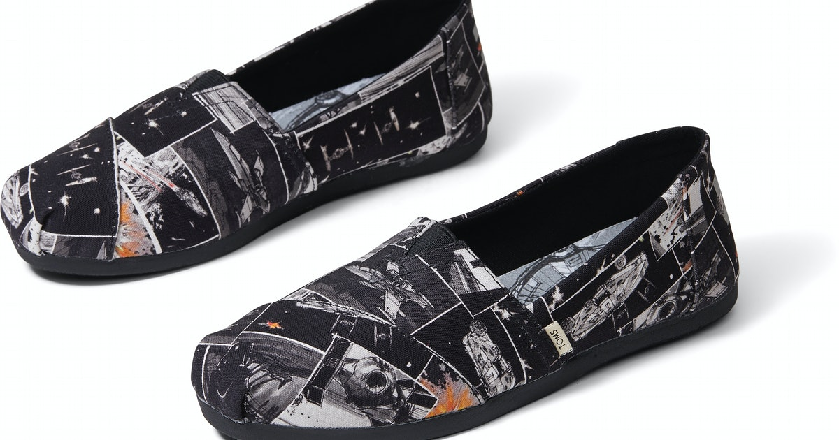 When Do The TOMS x 'Star Wars' Shoes Launch? You Can Wear The Force On Your Feet