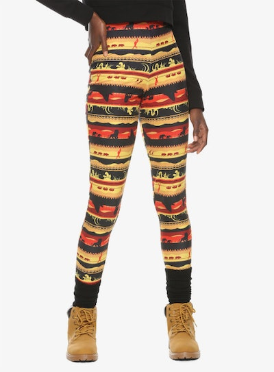 Her Universe Disney The Lion King Sunset Leggings