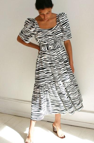 Ode Dress, Zebra