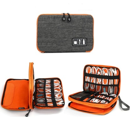 Jelly Comb Electronic Accessories Cable Organizer Bag