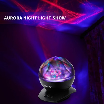 SOAIY Aurora Night Light Projector