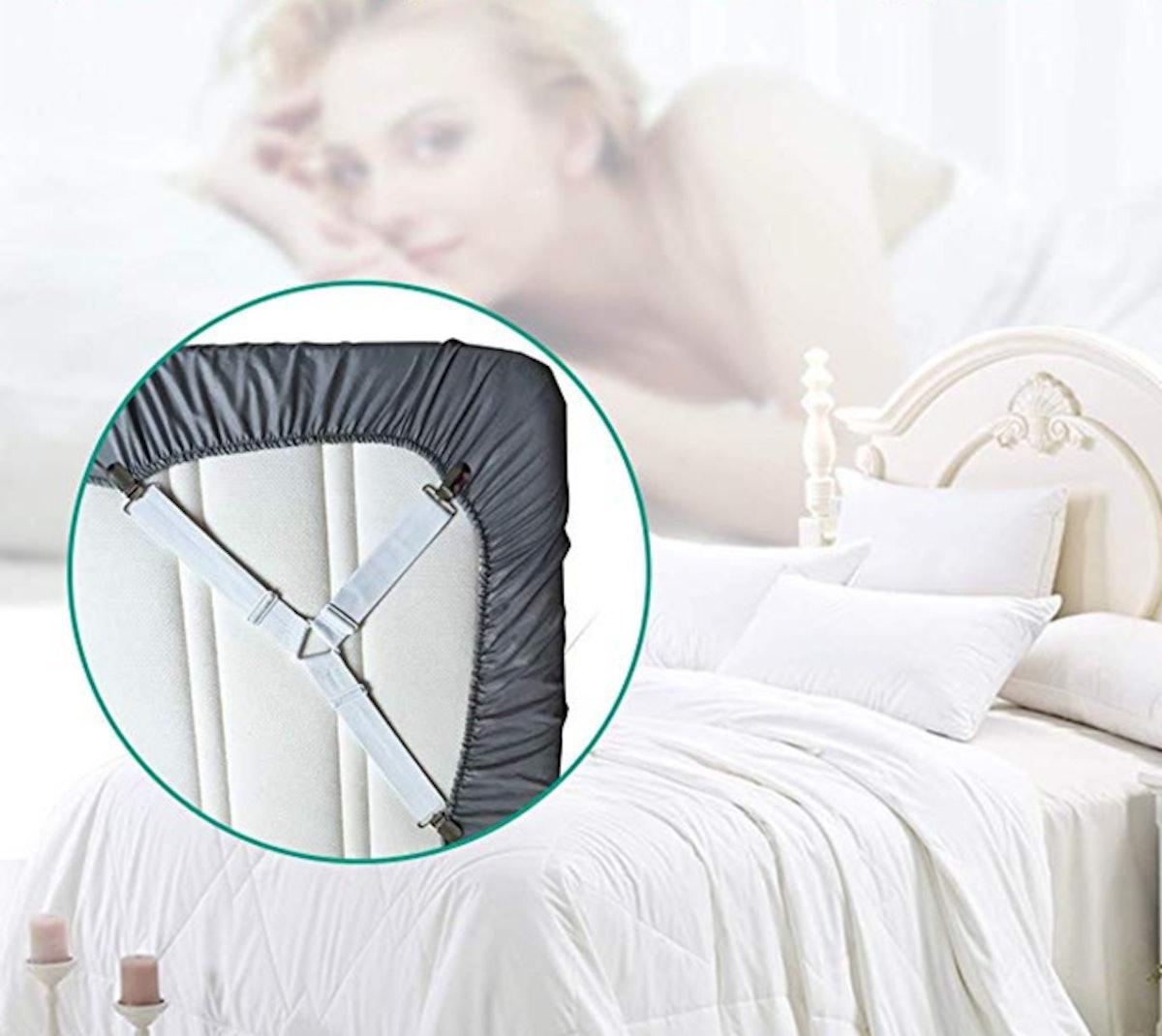 RayTour Bed Sheet Holder Straps