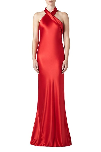 Galvan London Silk Pandora Dress