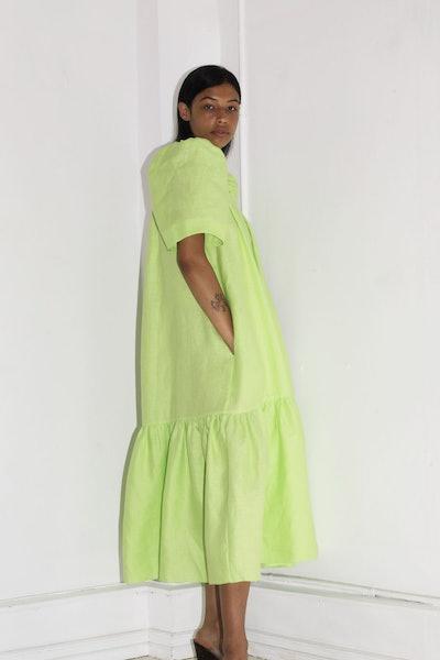 Ode Dress, Limeade