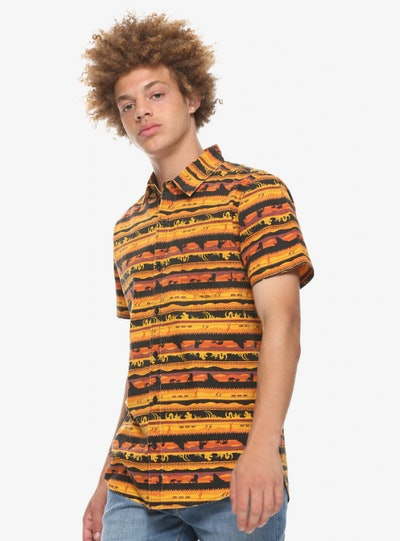 Our Universe Disney The Lion King Woven Button-Up