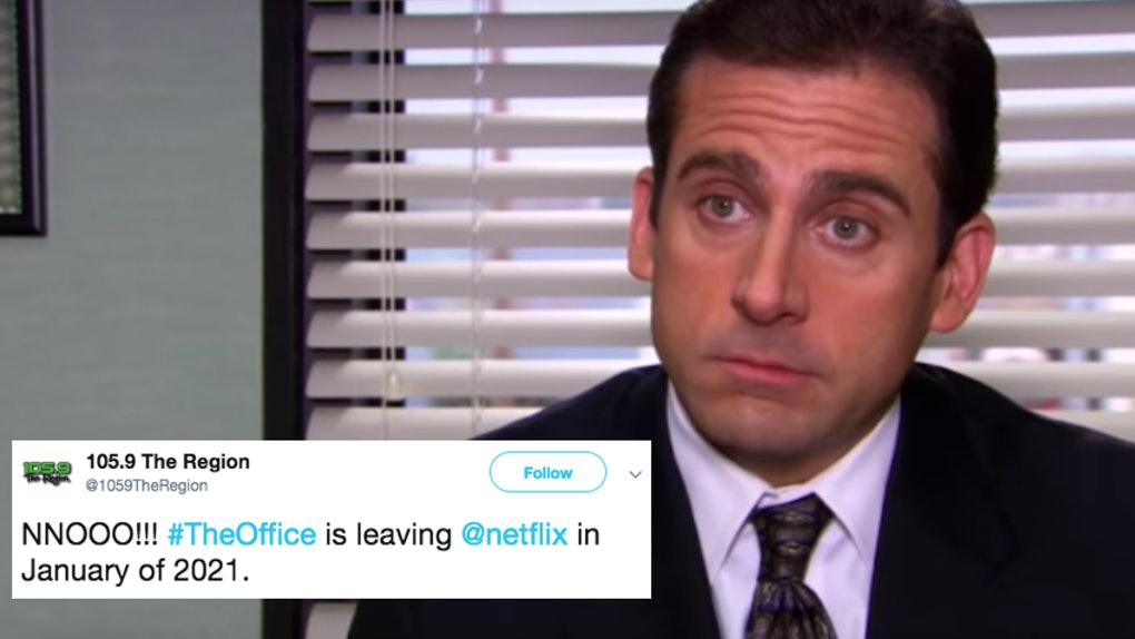 These Tweets About 'The Office' Leaving Netflix In 2021 Make It
