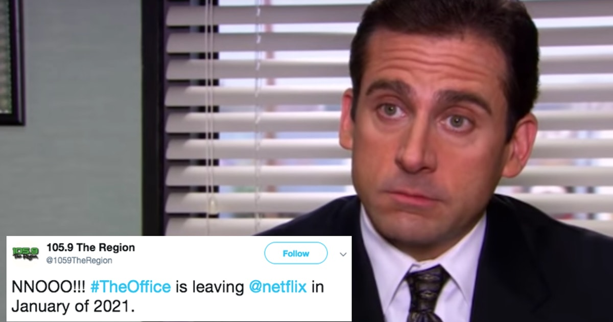 "These Tweets About 'The Office' Leaving Netflix In 2021 Make It Impossible To ""Stay Calm!"""
