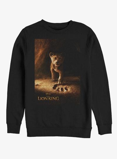 Disney The Lion King Simba Poster Sweatshirt
