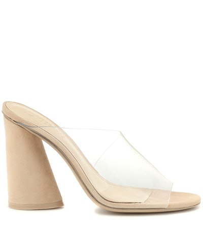 Kuri Suede and PVC Sandals