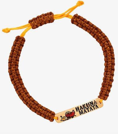 Disney 'The Lion King' Hakuna Matata Cord Bracelet