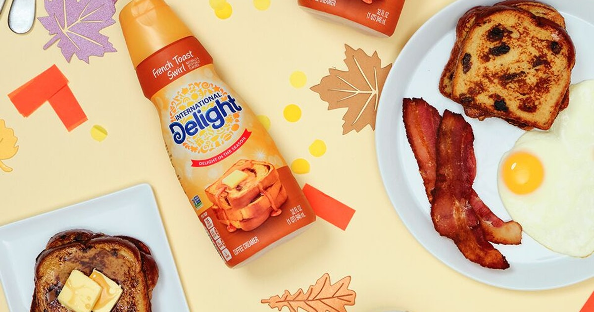 International Delight's French Toast Swirl Flavored Creamer Is A Taste Of Fall For Summer