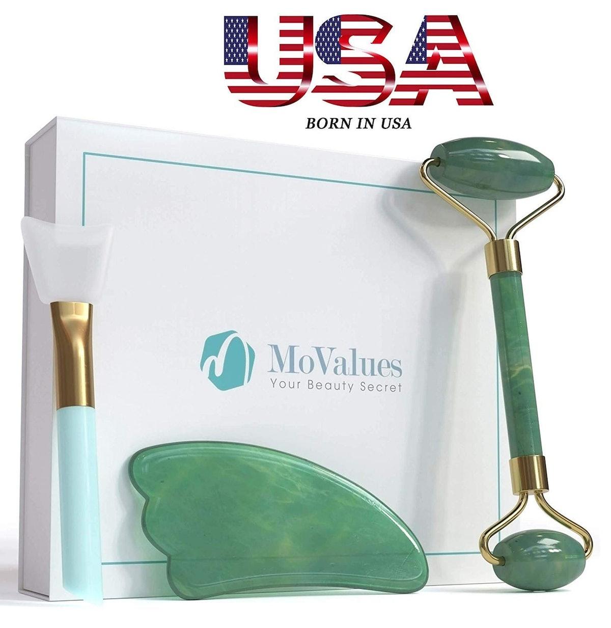 MoValues Original Jade Roller