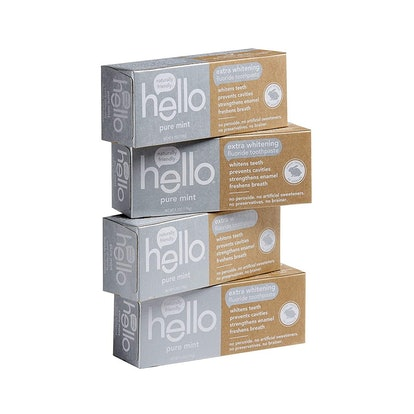 Hello Oral Care Whitening Toothpaste (4 Pack)
