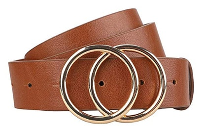 Earnda Faux Leather Belt