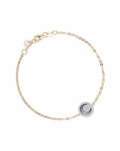 Ocean at Night Coin Bracelet