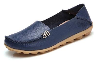 VenusCelia Natural Comfort Walking Flat Loafer