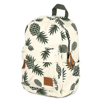 CCOHO Pineapple Canvas Travel Daypack