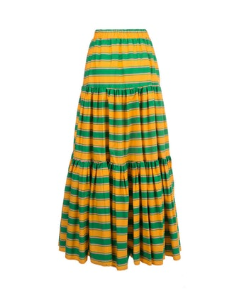 Big Skirt Ombrellone In Cotton
