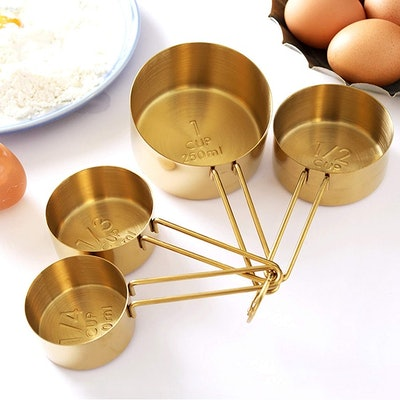 Homestia Gold Measuring Cups