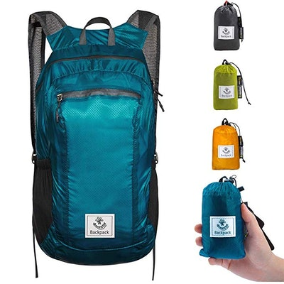 4Monster Ultra Lightweight Water Resistant Foldable Daypack