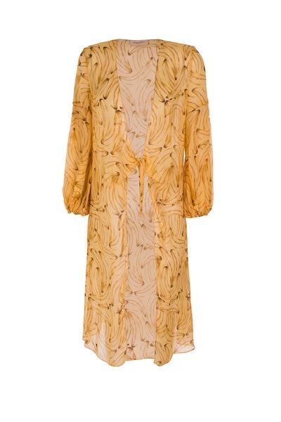 Muse Print Long Robe