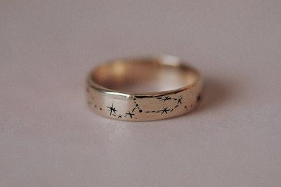 Written in the Stars Ring Narrow