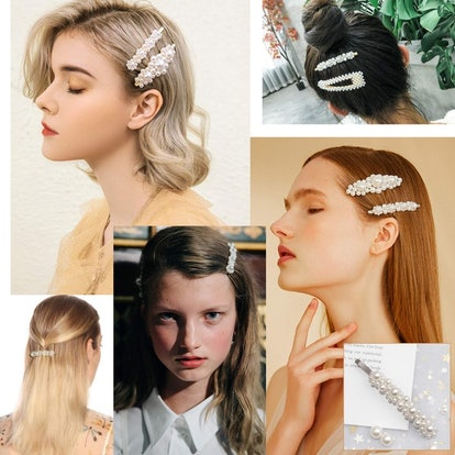 Warmfits Pearl Hair Clips (5 Pieces)