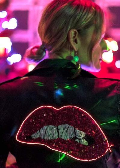 Custom Electric Lips Jacket