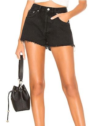 Parker Straight Denim Shorts