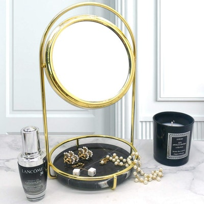 PuTwo Double-Sided Makeup Mirror