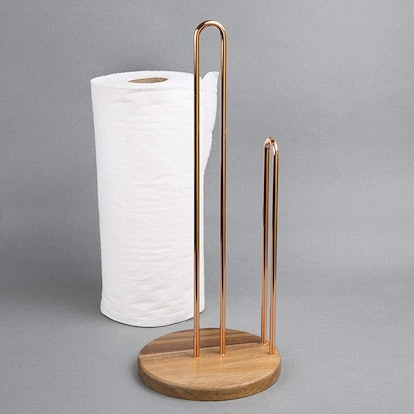 Creative Home Wood and Wire Paper Towel Holder