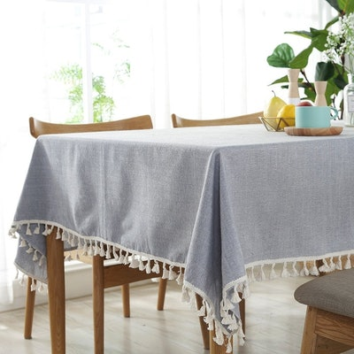 ColorBird Tassel Tablecloth