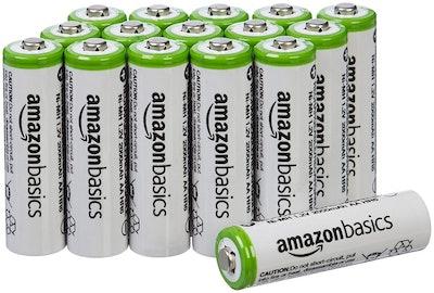 AmazonBasics AA Batteries (16 Pack)