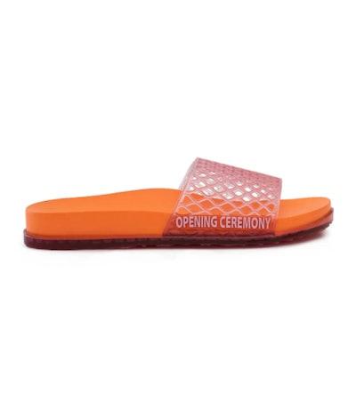Flipp Slides in Pink/Orange