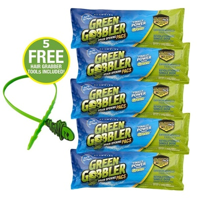 Green Gobbler Clog Removers (5 Pack)