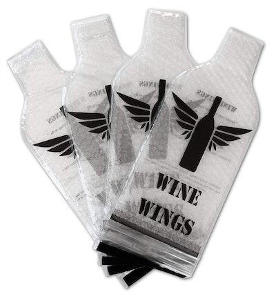 Wine Wings Bottle Sleeve (4 Pack)