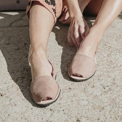 Classic Tan Nubuck Sandals
