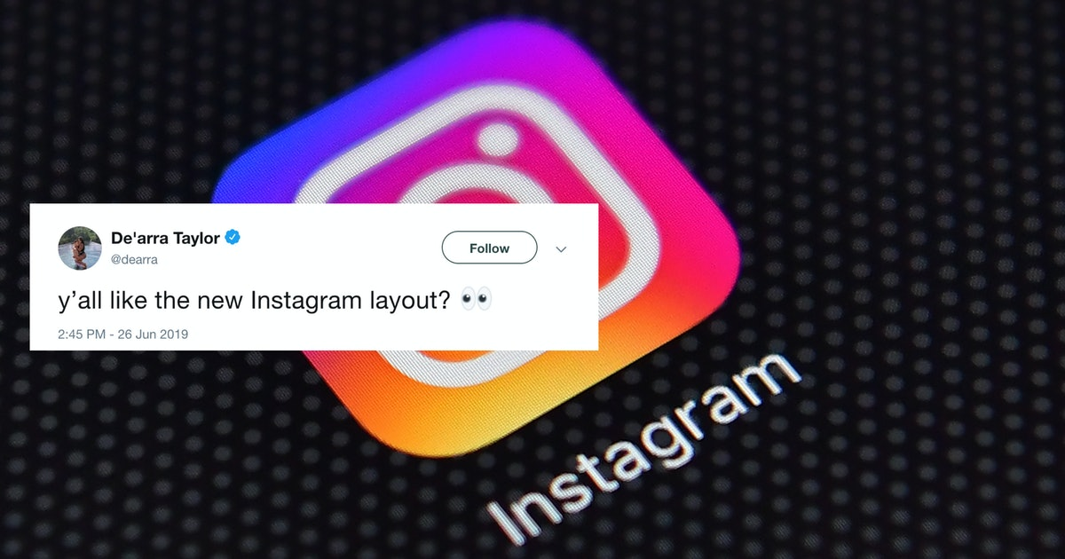 These Tweets About Instagram's New Profile Layout All Ask The Same Question